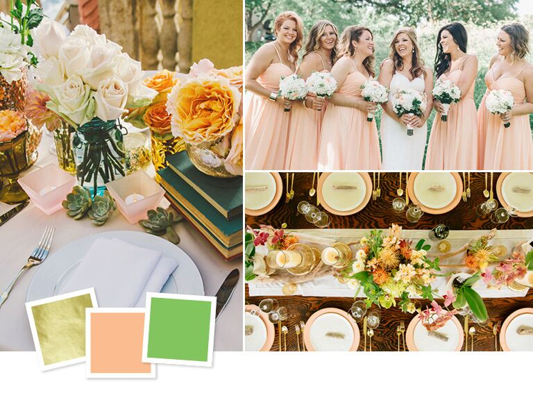 15 wedding color combos youve never seen unexpected wedding color combos that totally work junglespirit