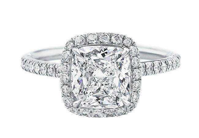 Wedding Rings In Walmart 69 Perfect Cushion cut engagement rings