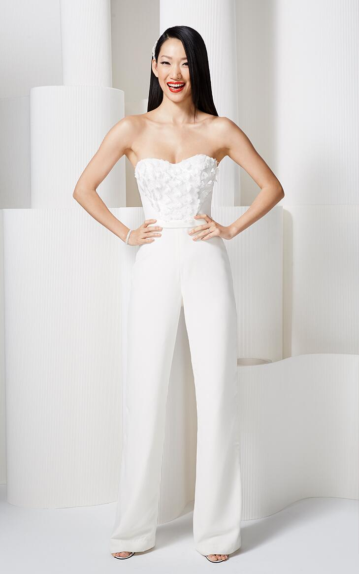 Find the wedding dress that fits your personality - Jumpsuit hochzeit ...