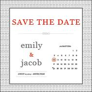 Save The Date Templates The Knot - Save the date calendar template