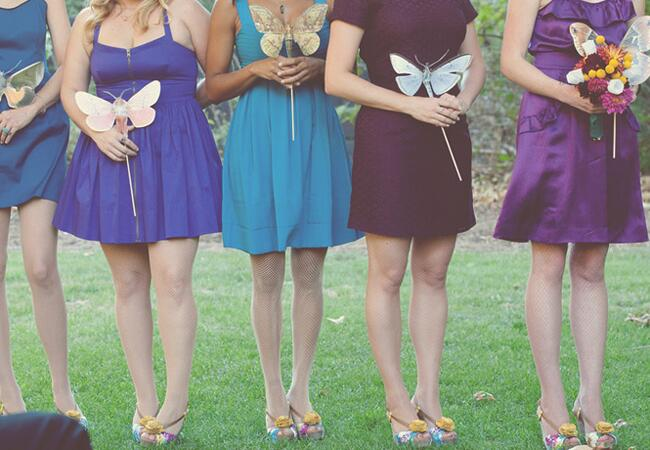 Butterfly Wedding Ideas Are Back | Photo: The Weaver House