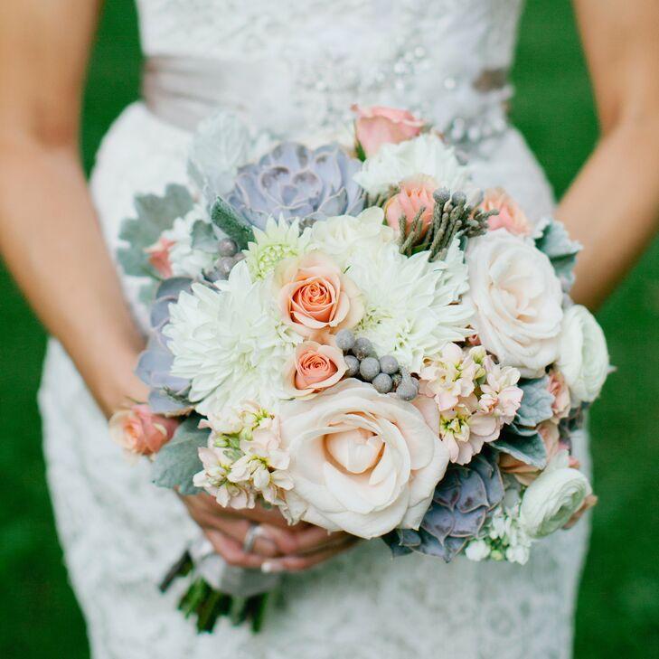 A Romantic Rustic Chic Wedding In Nashville, TN
