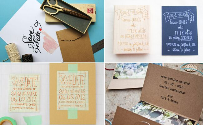 DIY SaveTheDate Templates You Can Easily Pull Off - Diy save the dates templates