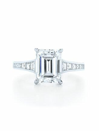 Kwiat Emerald Cut Ring