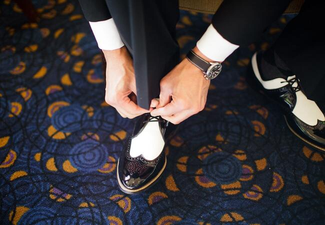 Stylish Groom Shoes