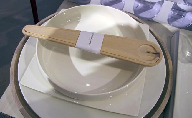 Royal Doulton wood salad spoon
