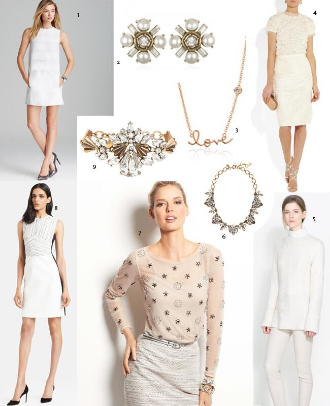 What to wear the week you're engaged//The Knot