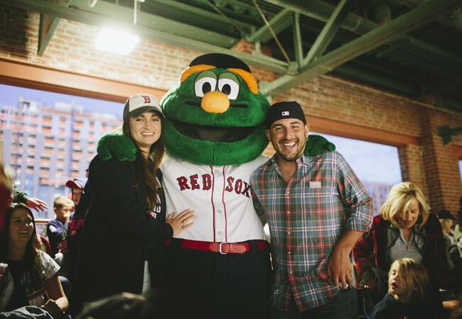 Boston Red Sox rehearsal dinner | Lime Green Photography | blog.theknot.com