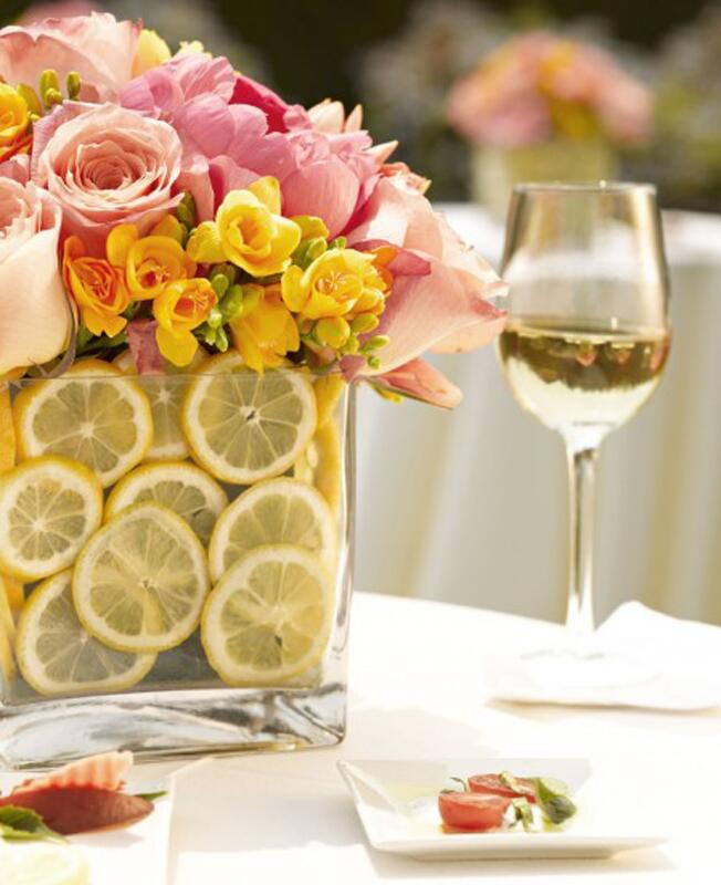 Lemon Slice Arrangement