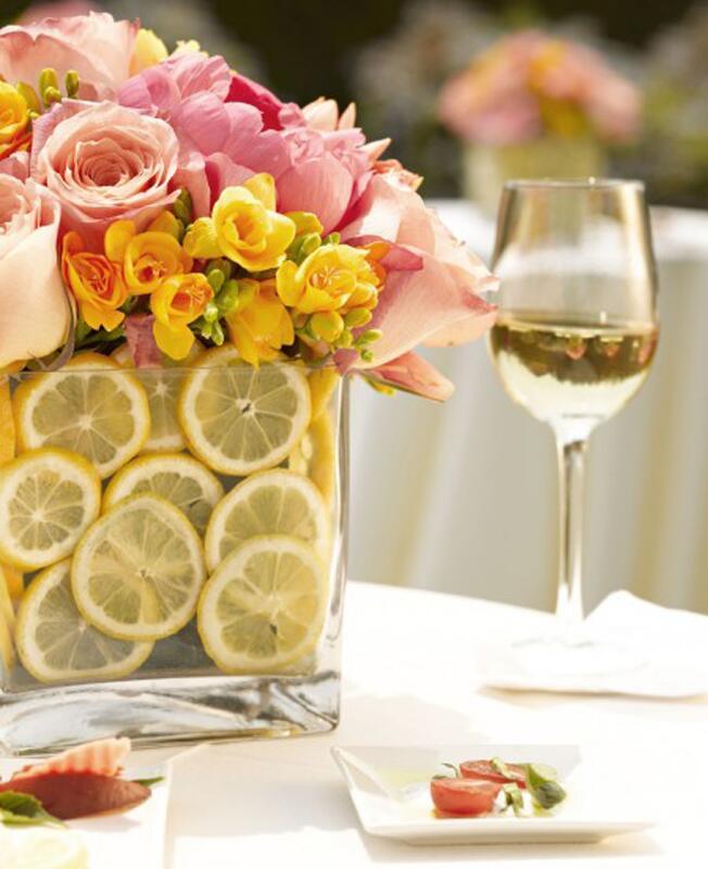 Lemon Slice Arrangement