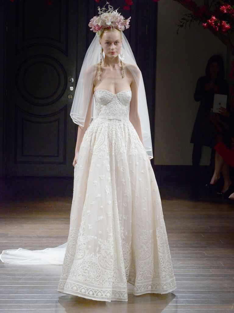 Naeem Khan Fall 2016 Wedding Dresses