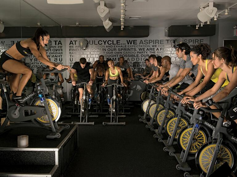 SoulCycle spin class