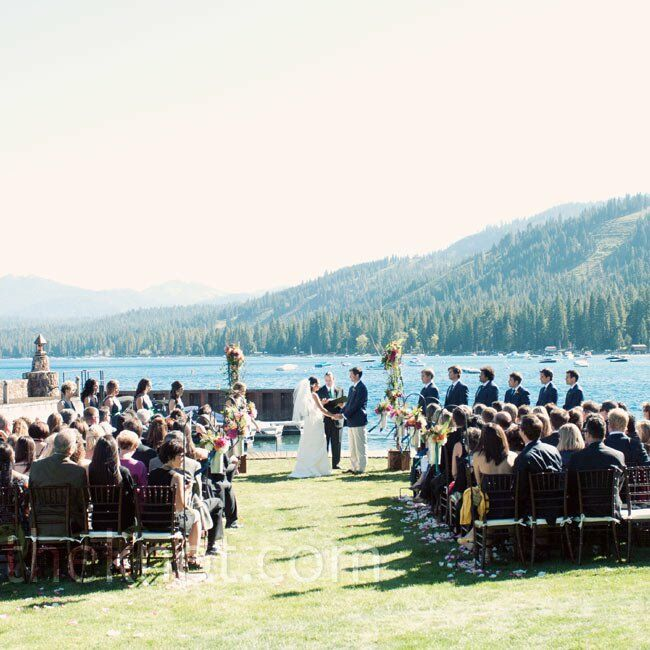 Casual Elegance At Lakeside Hideaway: A Casual Nautical-themed Wedding In Lake Tahoe, CA
