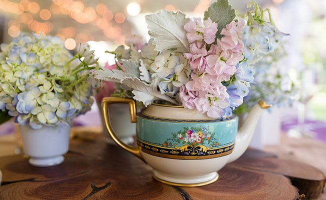 Teapot Wedding Werth Photograpy Blog Theknot