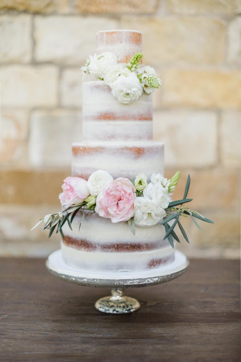 Alyssa Campanella wedding cake