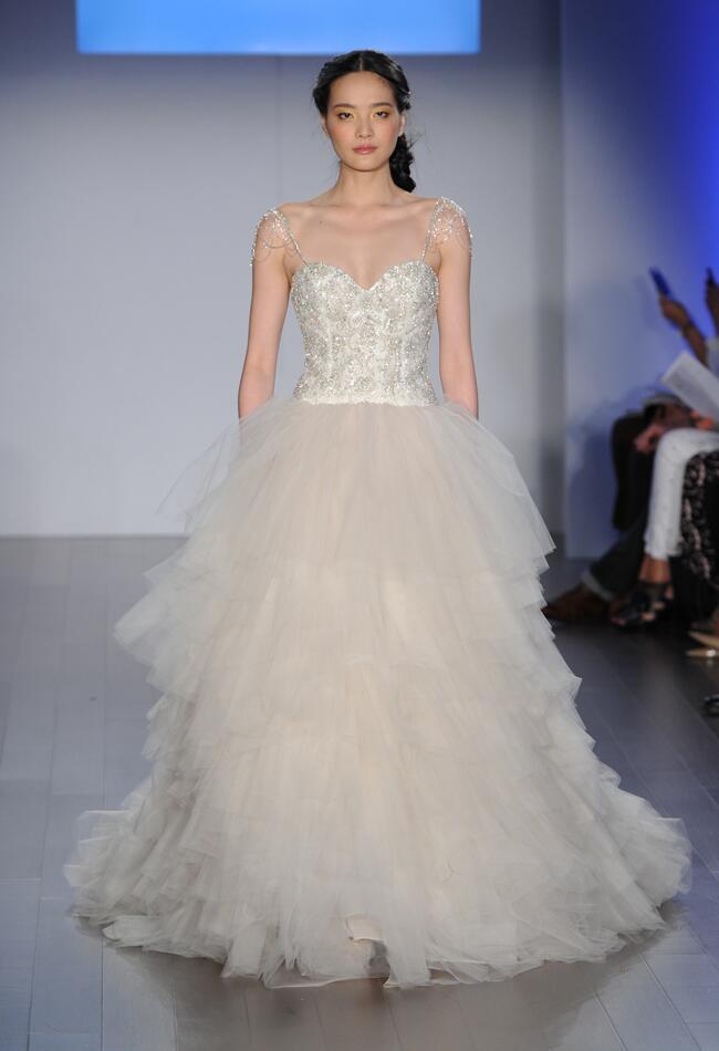 Lazaro Wedding Dresses Spring 2015   Kurt Wilberding   Blog.theknot.com