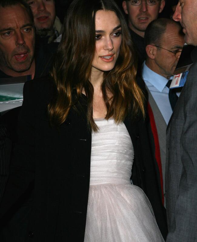 Keira Knightley Wears Wedding Dress Three Times