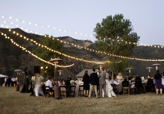 7 Places To Use String Bistro Lights At Your Wedding