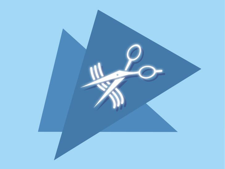 scissor graphic