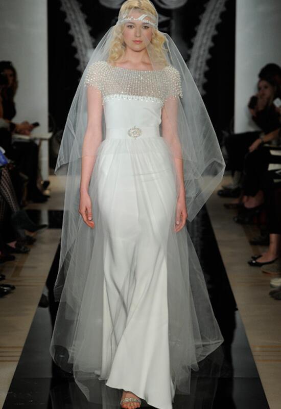 Reem Acra Bridal Gown