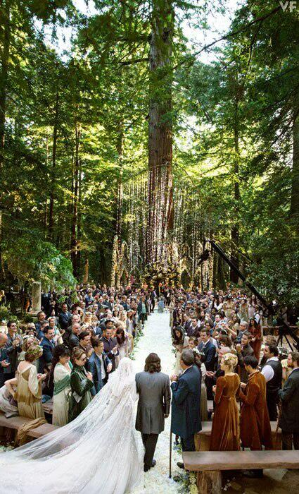 10 Insane Facts About Sean Parker S Enchanted Forest Wedding