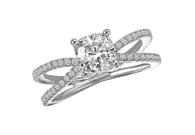 The Romance Diamond//TheKnot.com