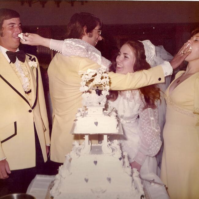 1970s Cake Smash