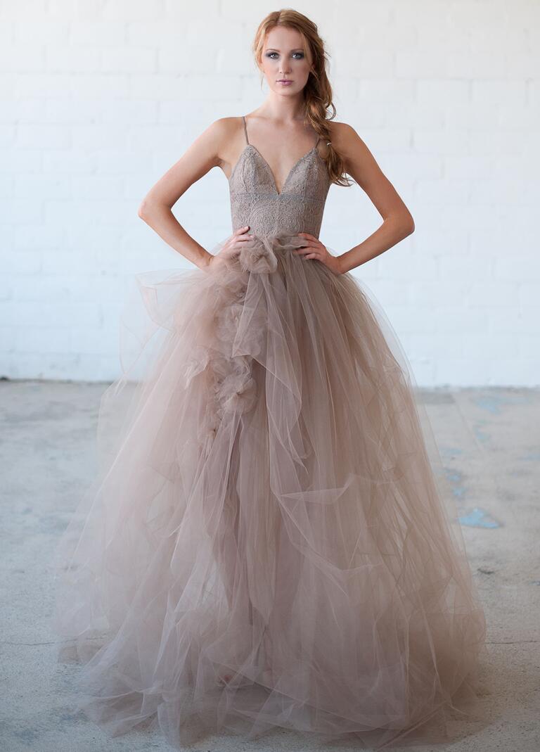 Tara Latour Fall 2016 Collection Bridal Fashion Week Photos