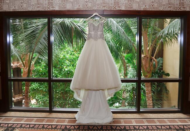 wedding dress   Cristina Elena Photography   Blog.theknot.com