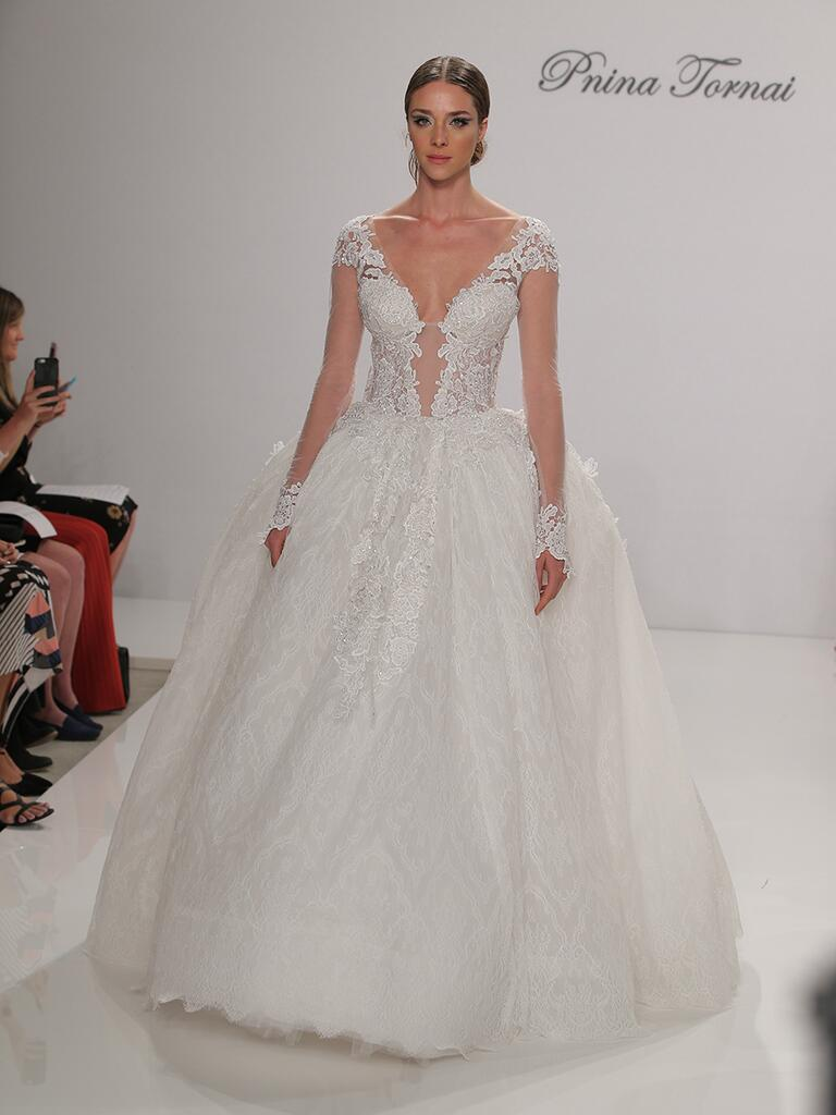 Pnina Tornai Fall 2017 Collection Bridal Fashion Week Photos