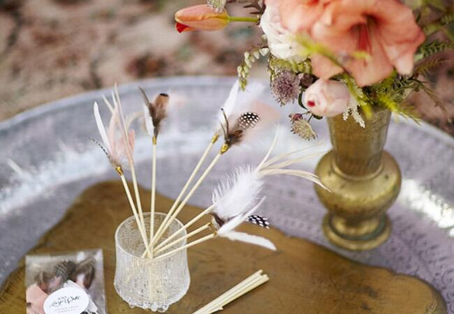 Feather Cocktail Stirrers