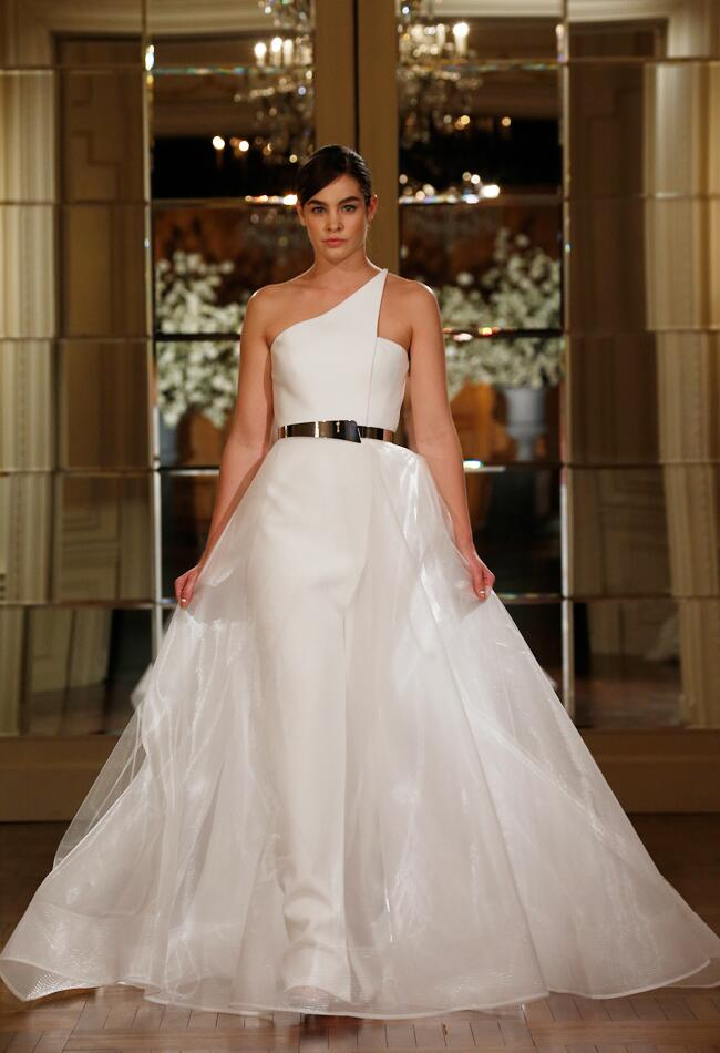 Knowles got married see her stunning romona keveza wedding dress