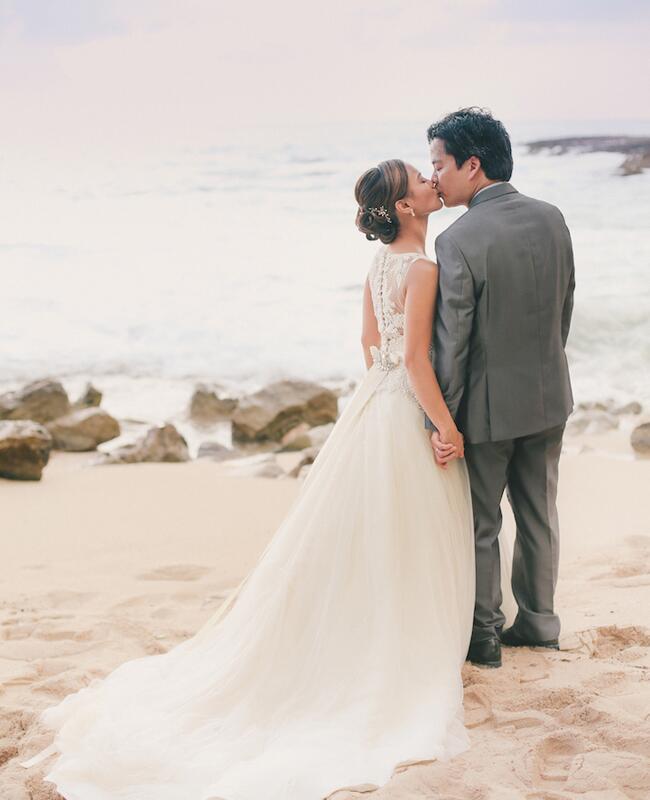 bride and groom   Cristina Elena Photography   Blog.theknot.com