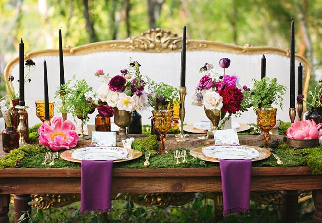 Fern Tablescape