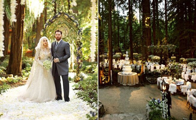 10 Insane Facts About Sean Parkers Enchanted Forest Wedding