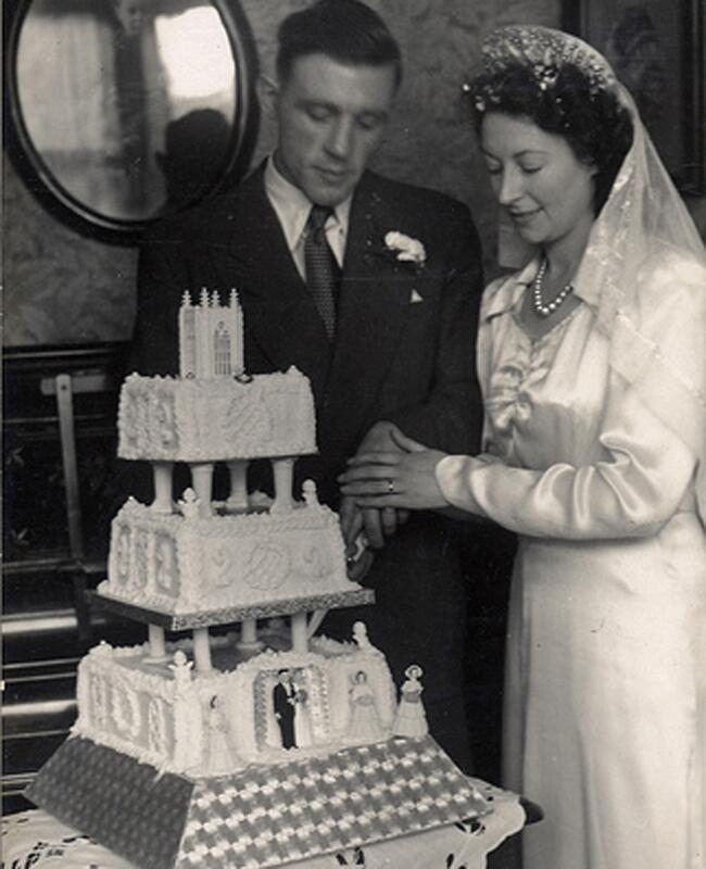 1940s Castle Cake
