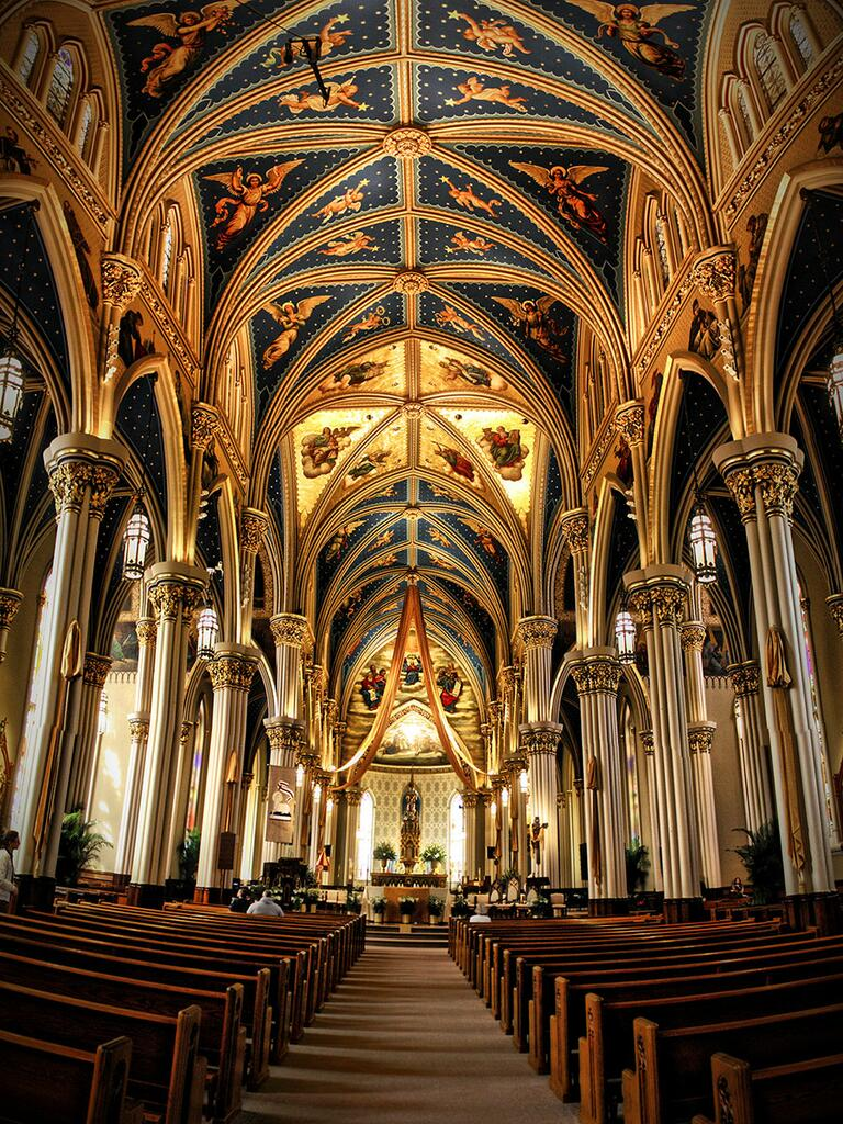 University of Notre Dame chapel