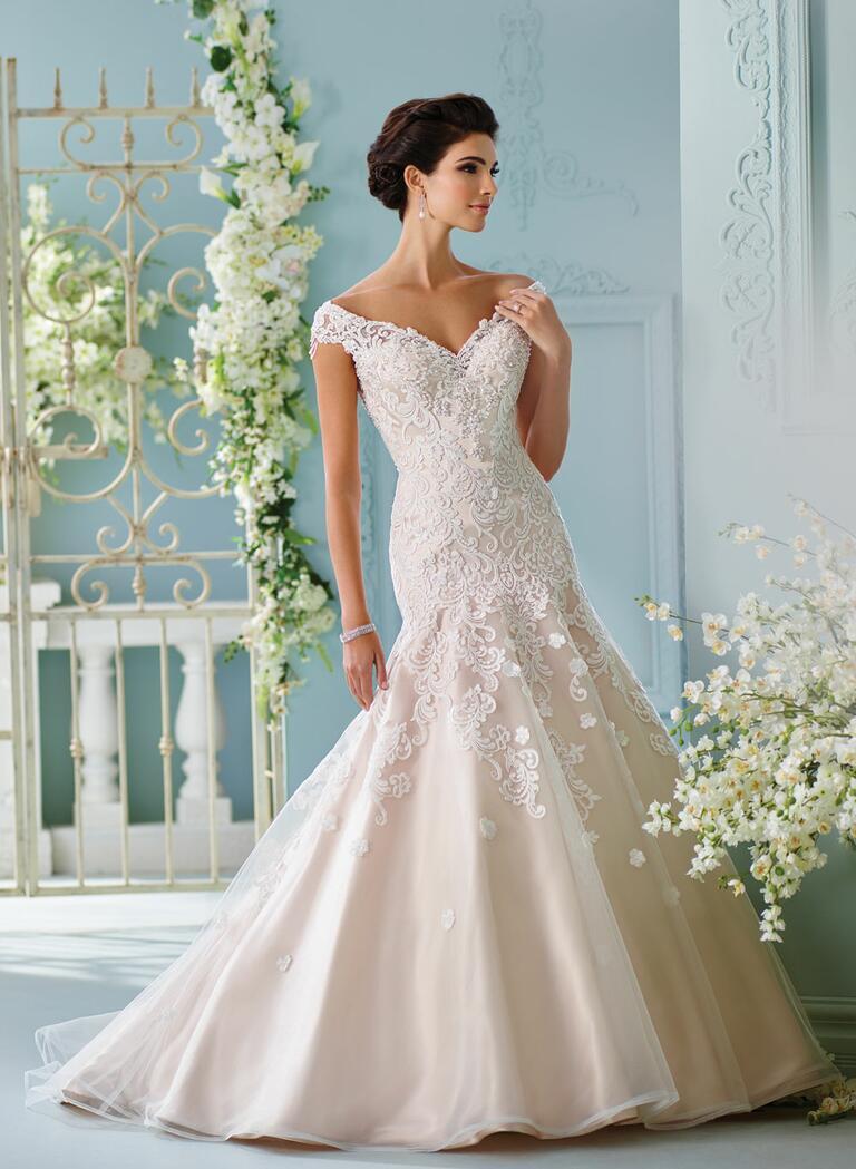 Images Of Wedding Dresses 2017 : David tutera spring collection bridal fashion week photos