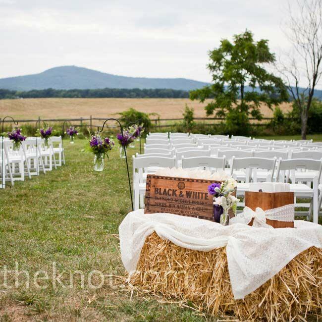 A Vintage Formal Outdoor Wedding In Virginia: A Vintage Outdoor Wedding In Dickerson, MD