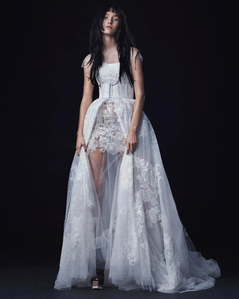 Vera Wang Fall 2016 Collection: Wedding Dress Photos
