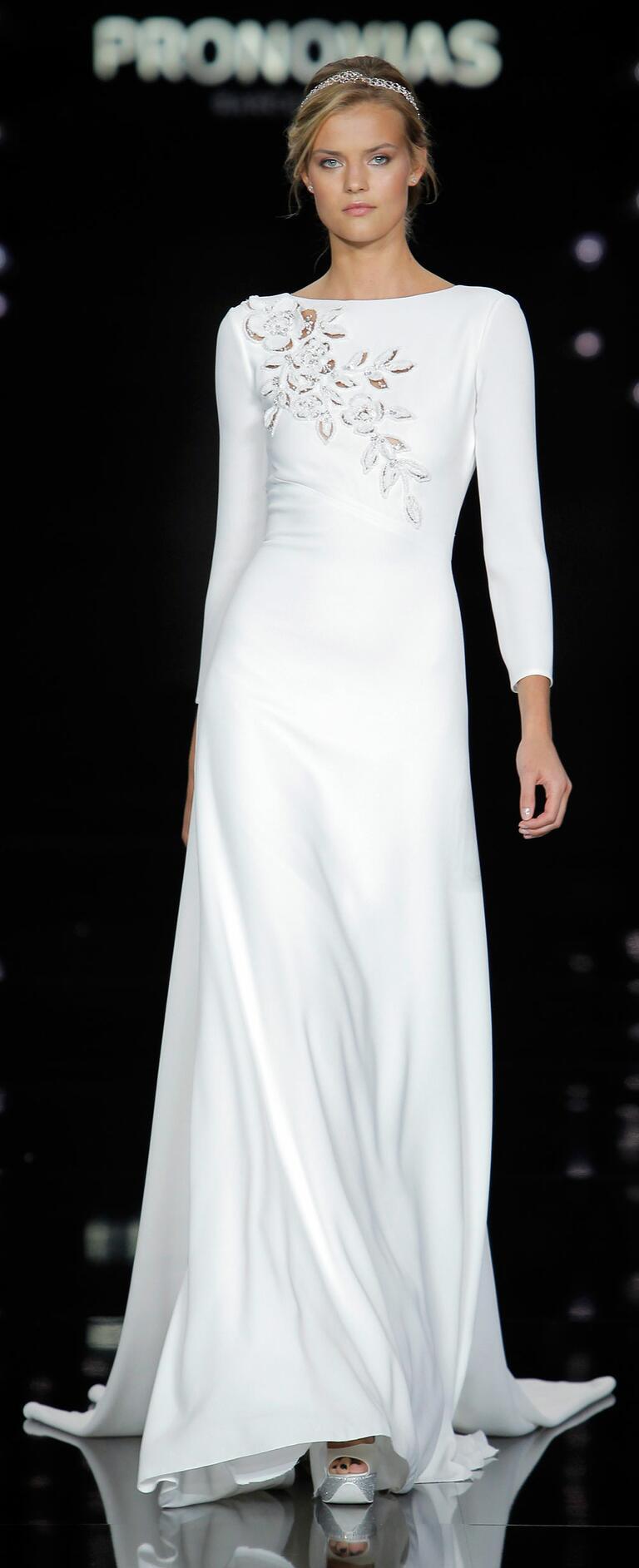 Atelier Pronovias Spring 2017 wedding dress