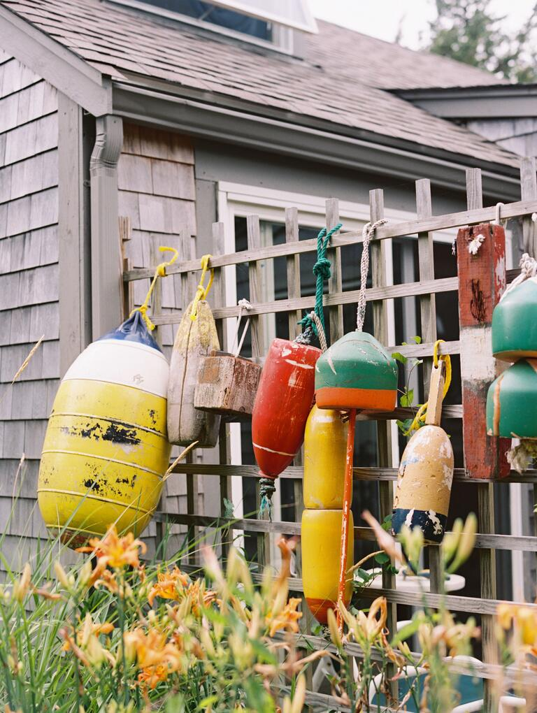 Water buoy Cape Cod decorations