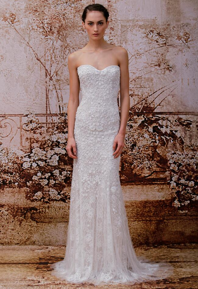 Monique Lhuillier Wedding Dresses Spring 2014/ Violet