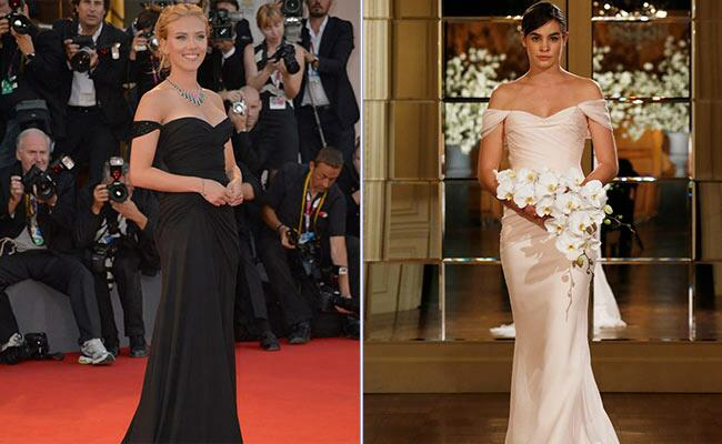 Scarlett Johansson: Fashionista / TheKnot.com