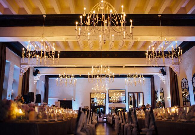 chandelier reception | Lime Green Photography | blog.theknot.com