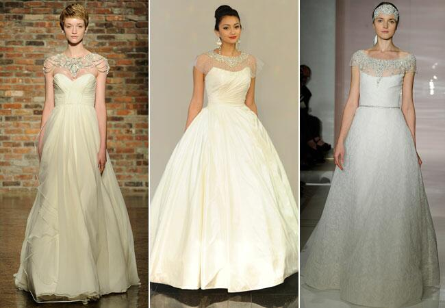 bridal fashion week fall 2014 trends