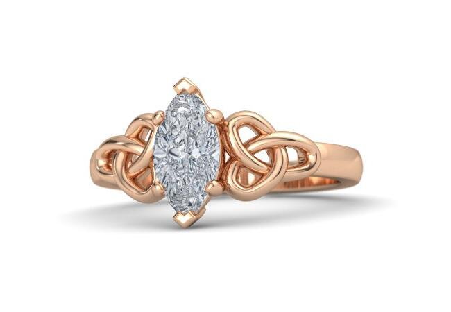 5 Unique Marquise Engagement Rings Similar To Ashlee