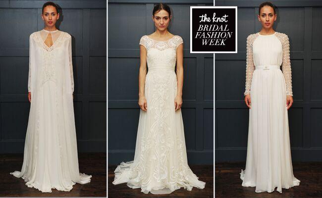 e423354ac226 Temperley Bridal Winter 2015 Wedding Dresses Are Full of Simple ...