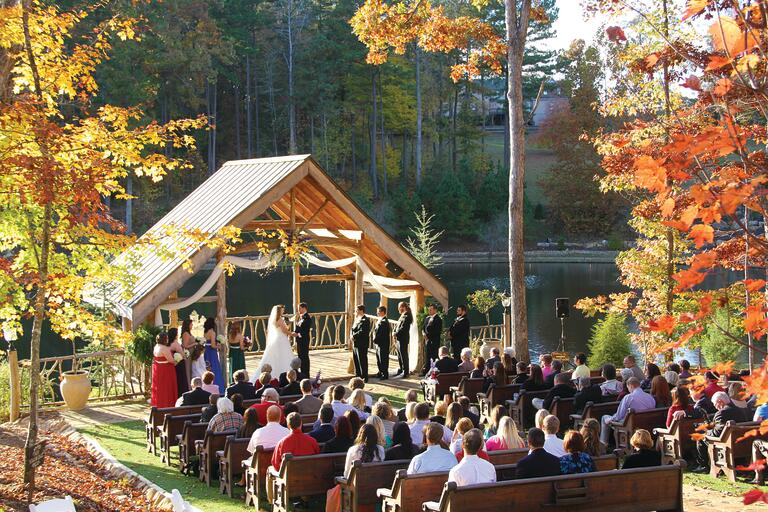 Indigo Falls Georgia wedding venue