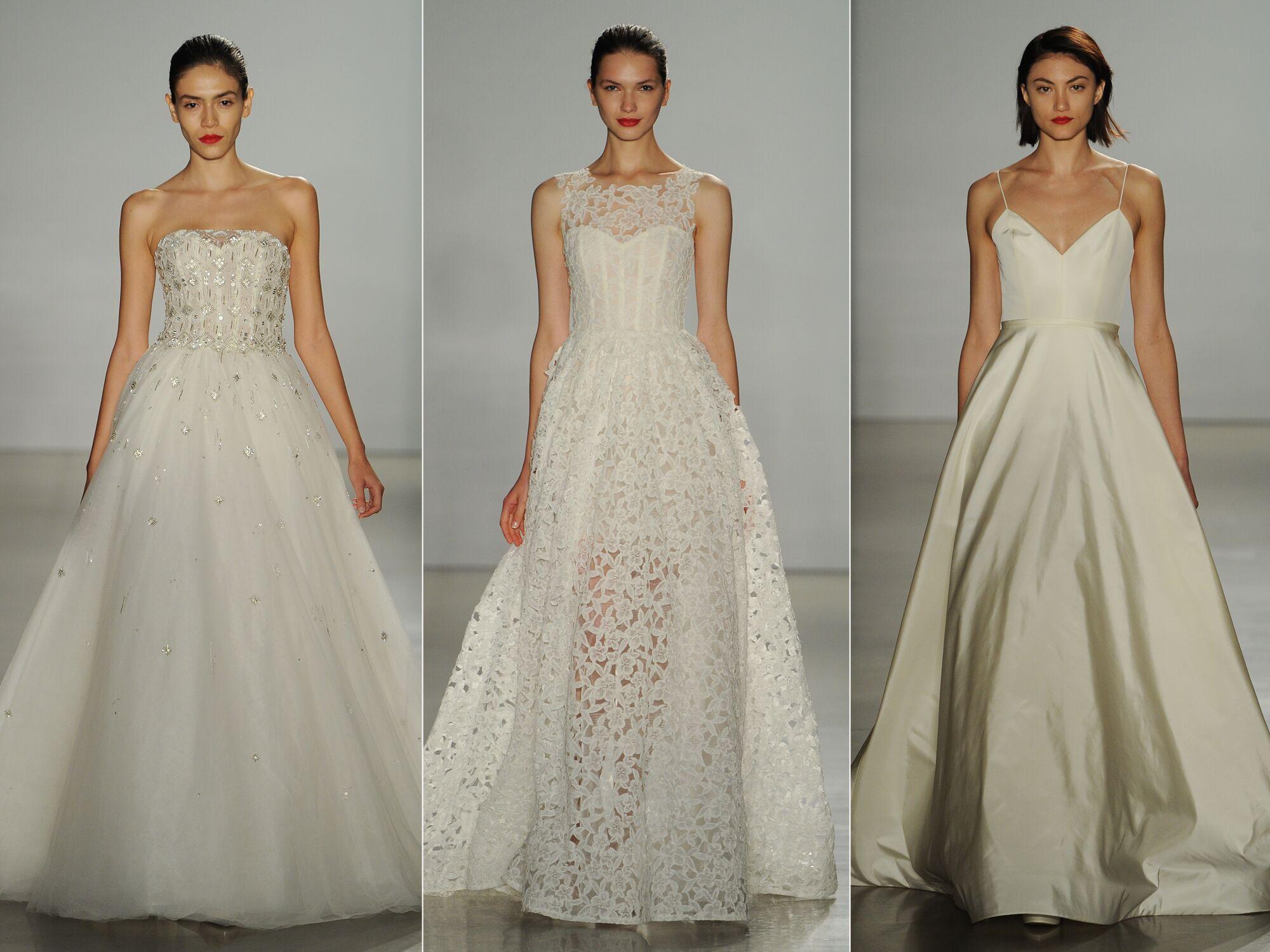 Amsale Fall 2016 Collection: Wedding Dress Photos